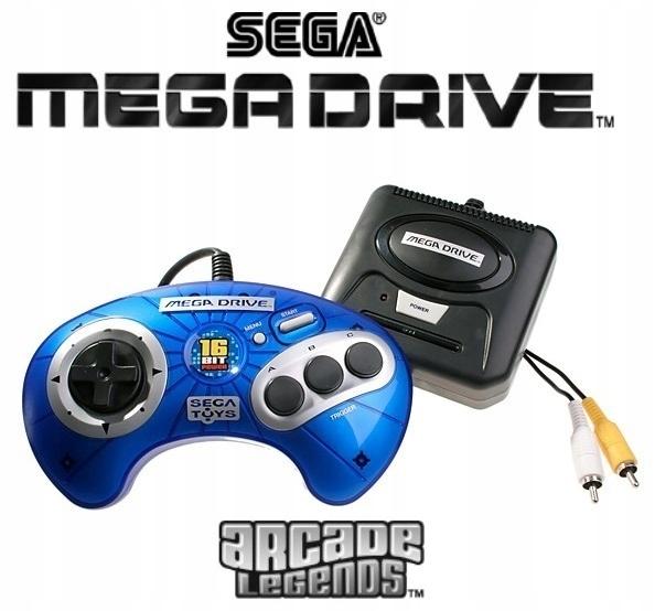 SEGA MegaDrive - ARCADE LEGENDS - RADICA Sega Toys