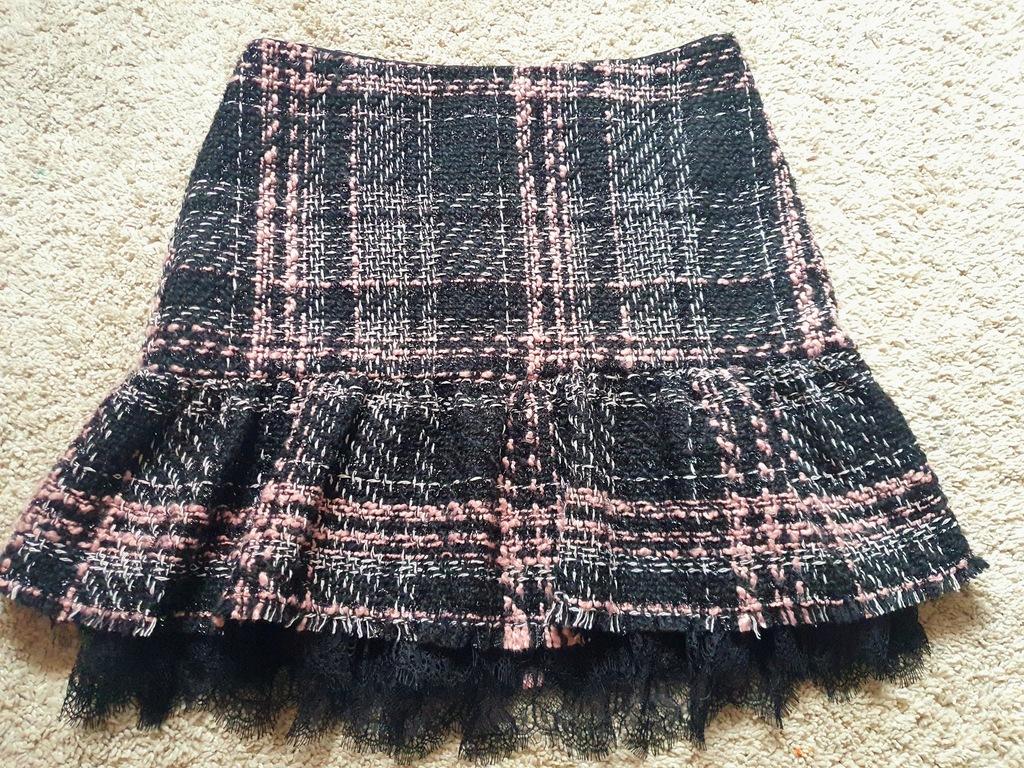 Spódnica Zara r. M ciepła stan bdb