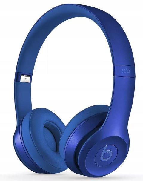 Słuchawki przewodowe Beats Solo2 - szafir-nieb.