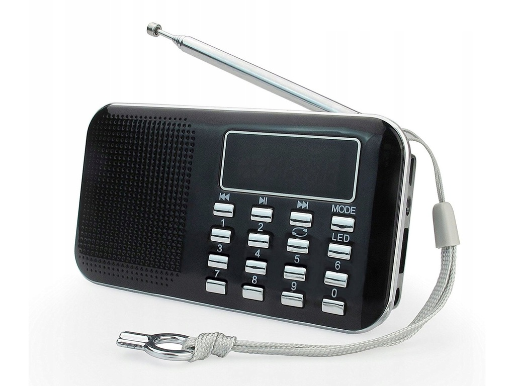 PRUNUS L218AM Wielofunkcyjne Radio Cyfrowe MP3 USB