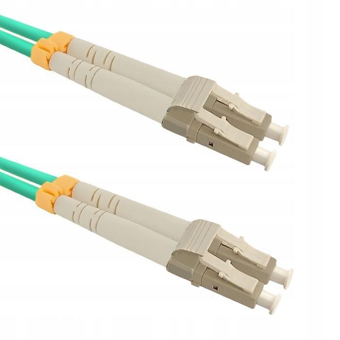 Qoltec Patchcord światłowodowy LC/UPC-LC/UPC | MM