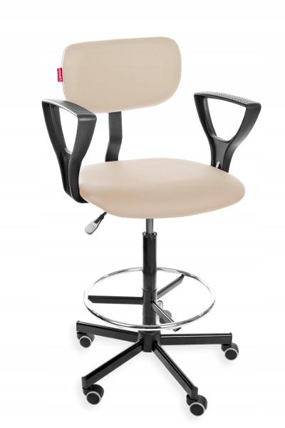Krzesła na produkcję, Krzesło medyczne, laboratoryjne, ze