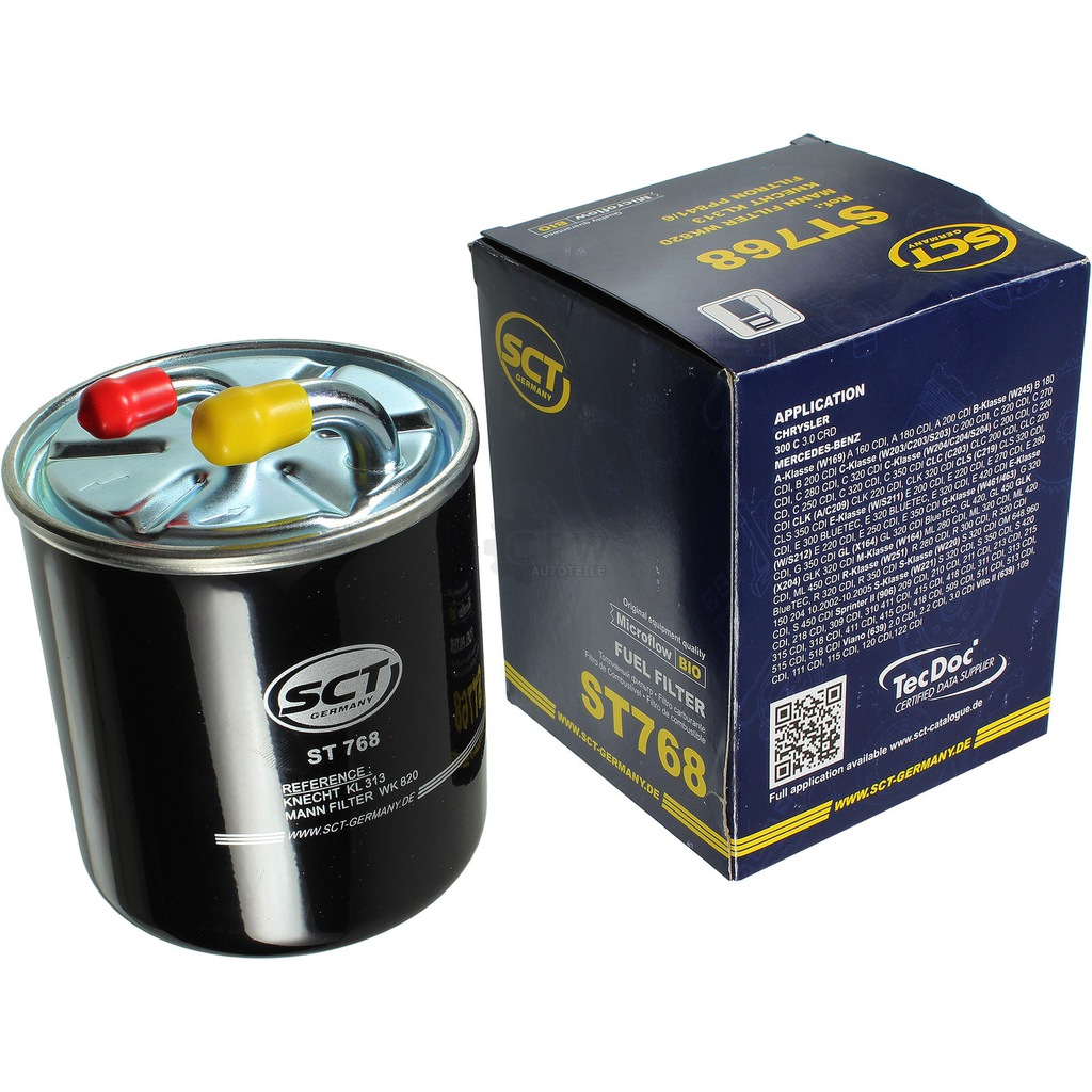 Mann Fuel Filter Inline For Mercedes-Benz A-Class A 160 CDi A 170 CDi