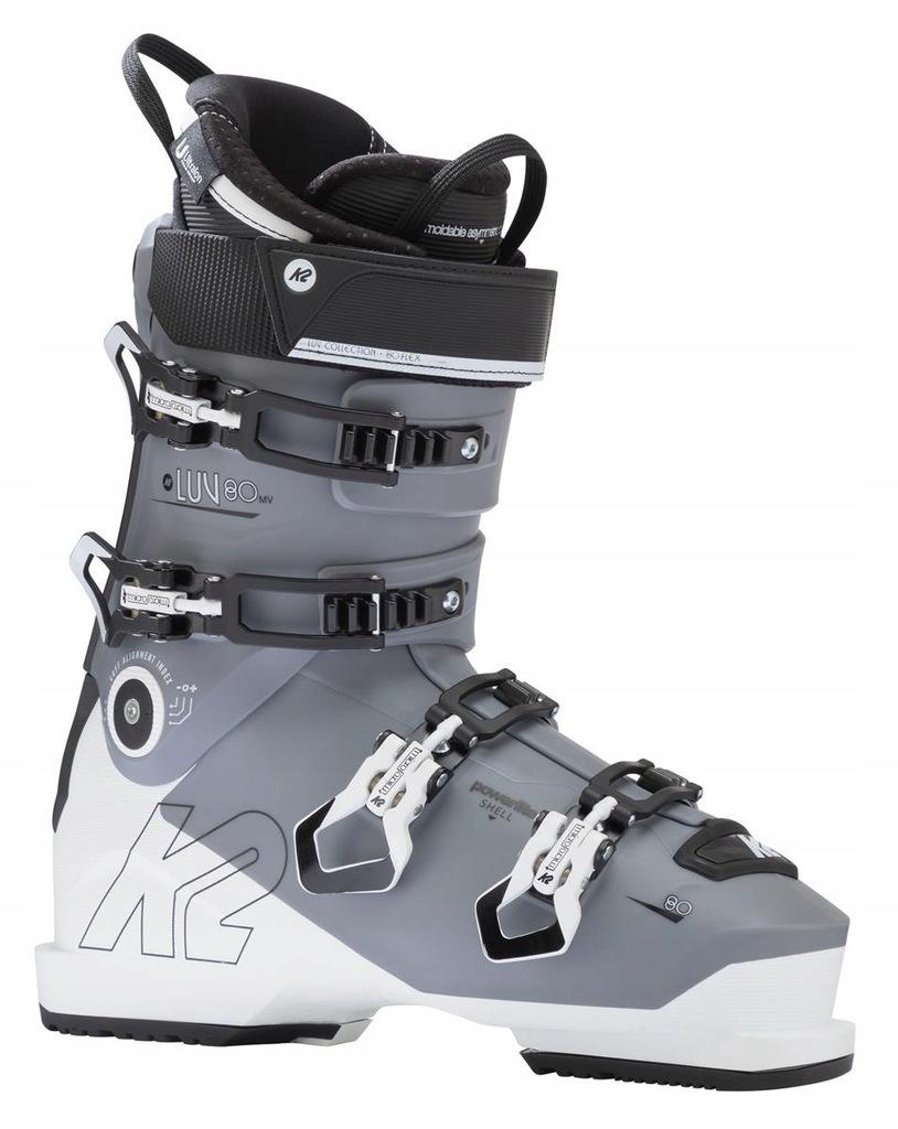 Buty narciarskie K2 LUV 80 LV Szary 23/23.5 Biały