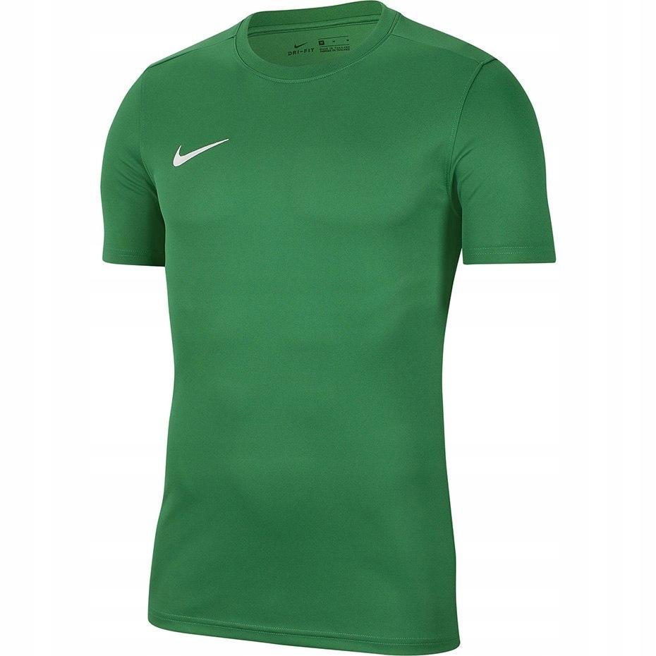 Koszulka chłopięca dziecięca Nike Dry zielona M