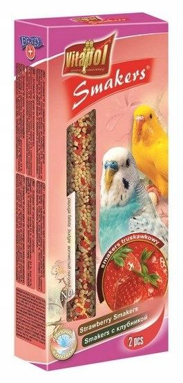 Vitapol Smakers dla papugi falistej - truskawka 2s