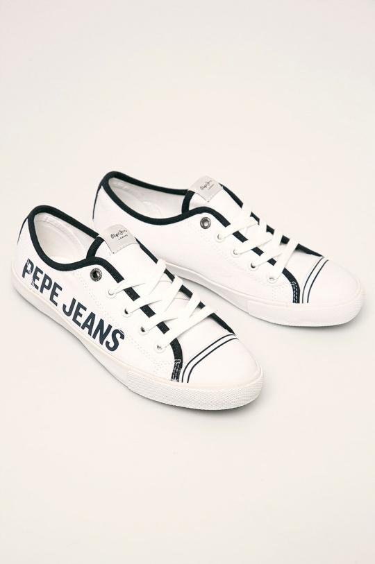 PEPE JEANS - TENISÓWKI GERY BRANDING PLS30954 40