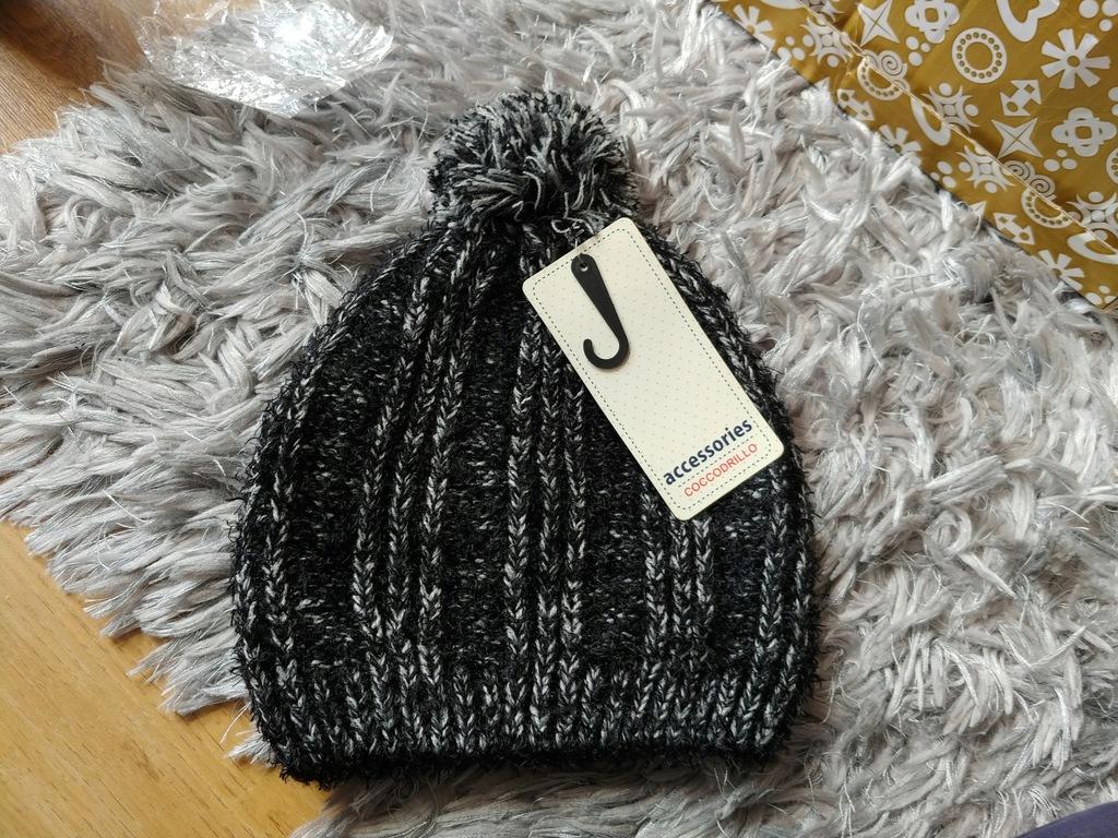 Coccodrillo czapka jesień/zima roz.56cm 7-8l nowa