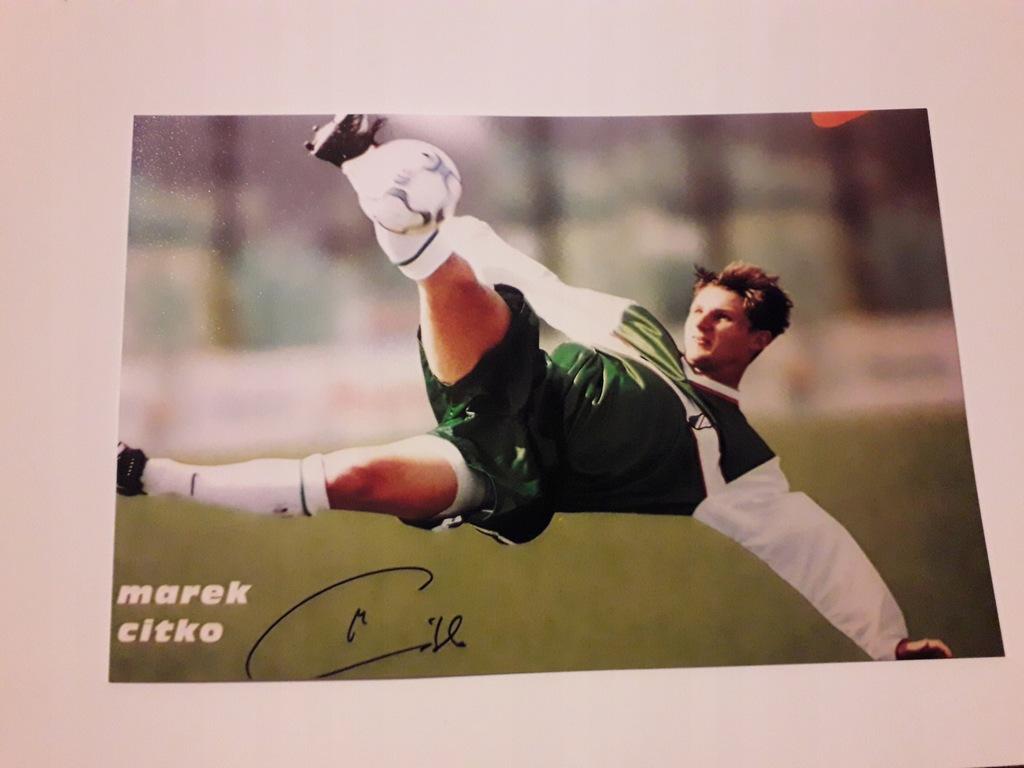 Marek Citko, Legia - zdjęcie z autografem