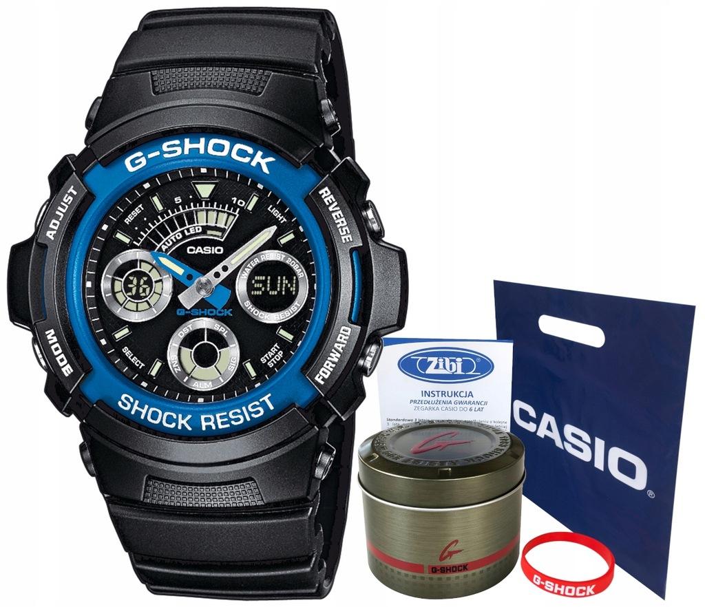 Zegarek dla chłopca Casio G-SHOCK AW-591-2AER
