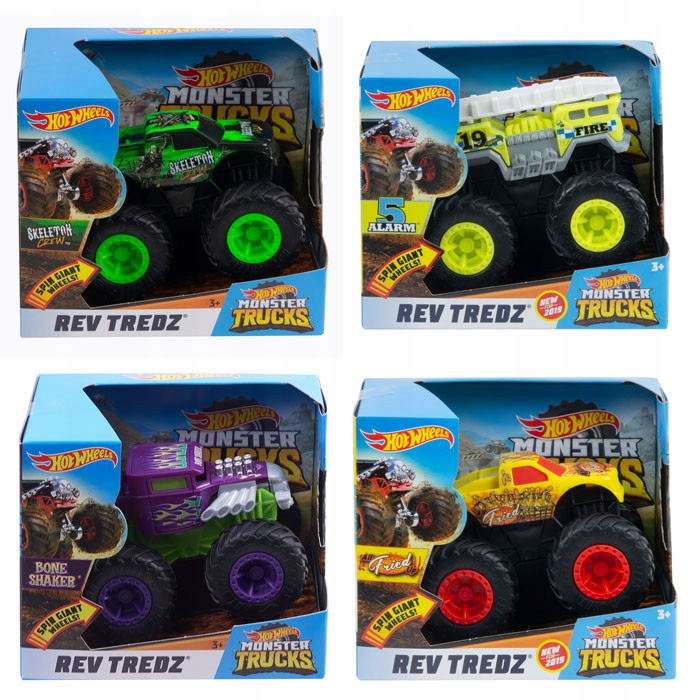 Hot Wheels. FYJ71 Monster Trucks. Pojazd, mix w...