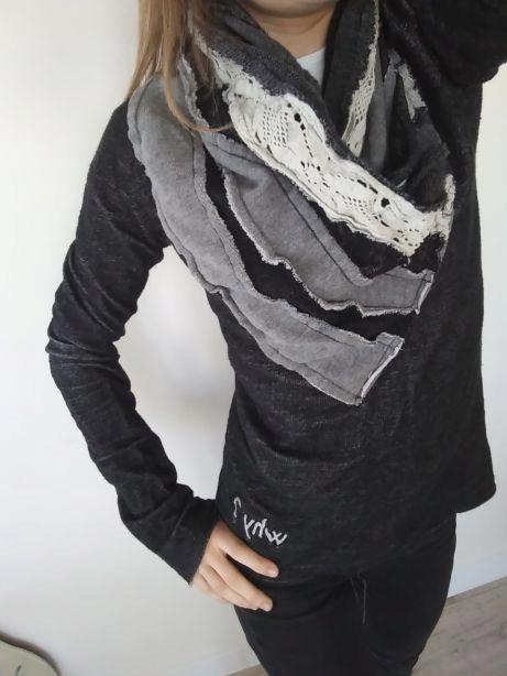 DESIGUAL sweter bluzka casual r.S