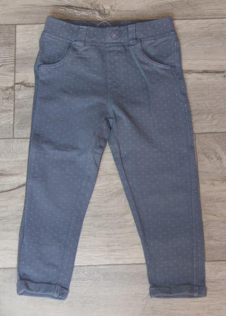 Cool Club spodnie w groszki r. 86 cm