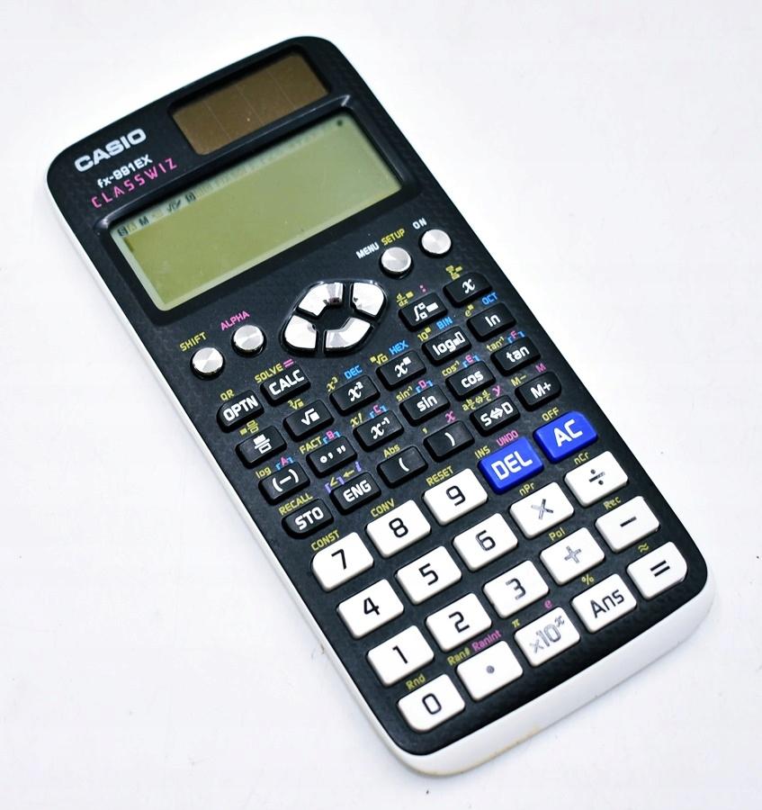 9180-11 CASIO CLASSWIZ FX-991EX... a#g KALKULATOR
