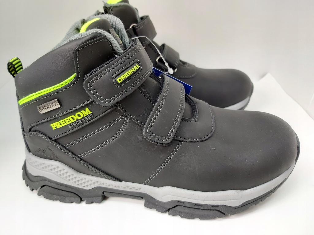 Ciepłe, zimowe buty Badoxx 5XC-7717A rozm 32