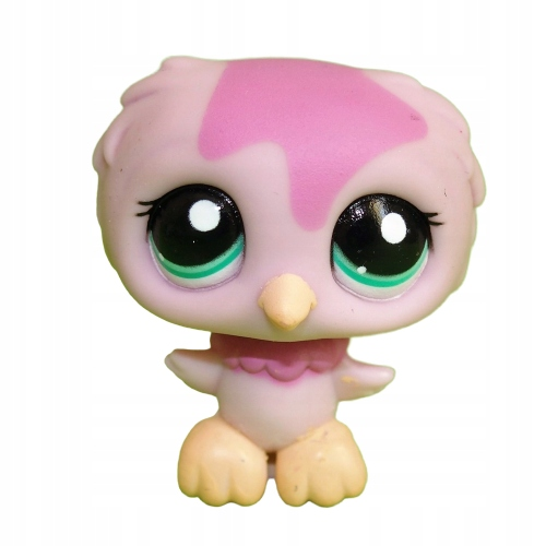 ptak sówka SOWA #1641 -- Littlest Pet Shop LPS