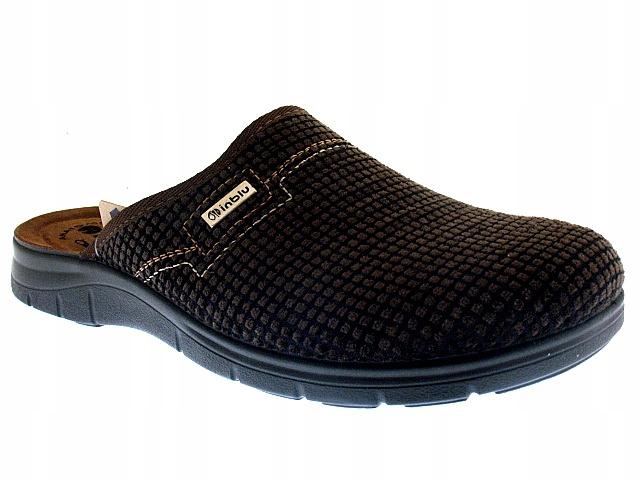 KLAPKI męskie KAPCIE obuwie domowe BG034 INBLU 45