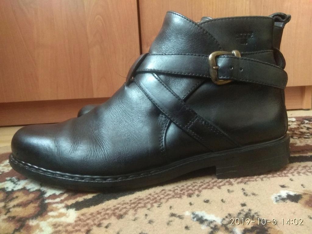 Super skórzane buty ECCO Derby