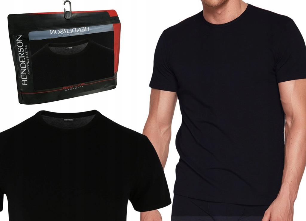 Koszulka T-Shirt K3 Henderson RED LINE czarny L
