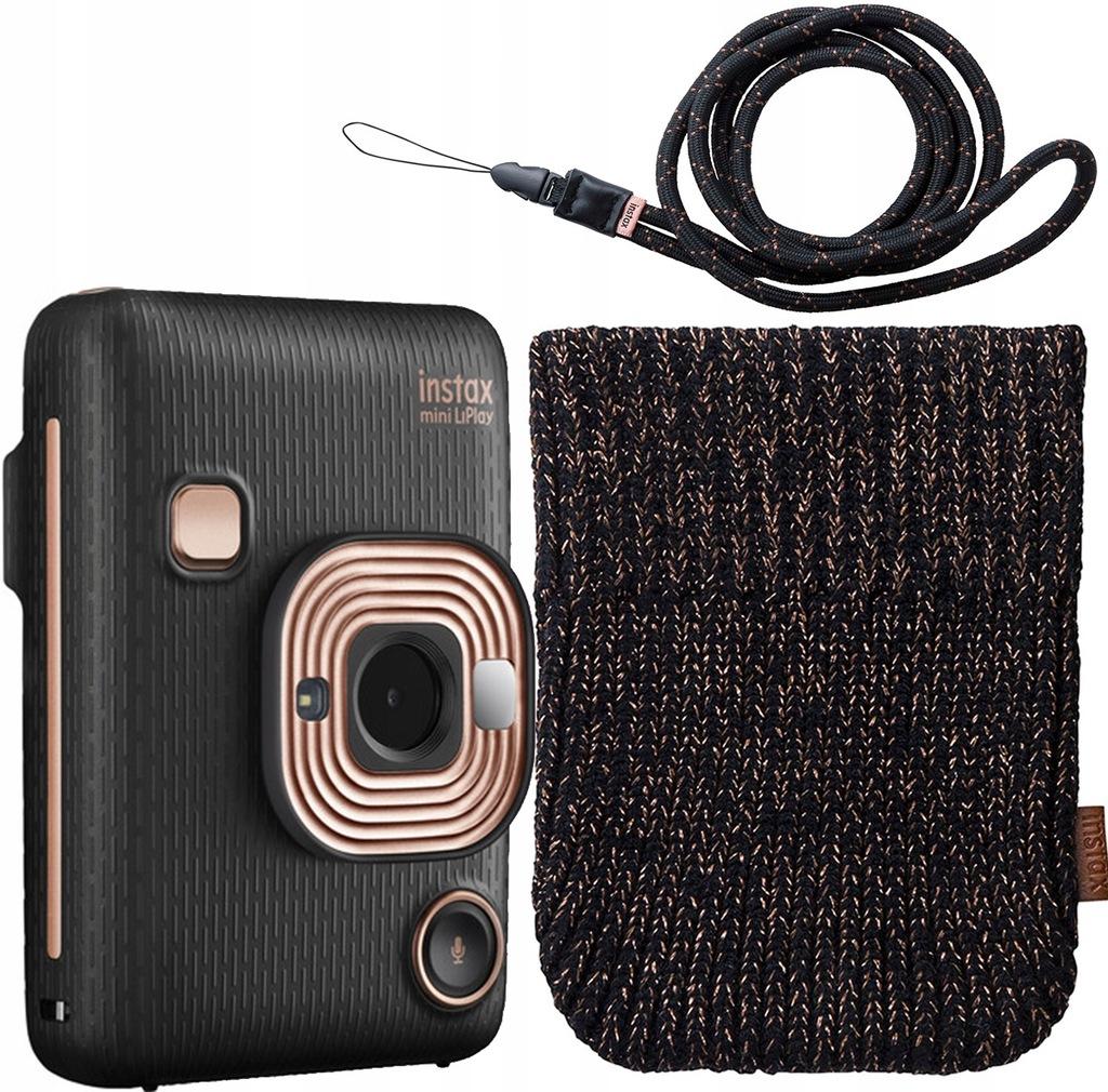 Fujifilm Instax Mini LiPlay BLACK +pokrowiec