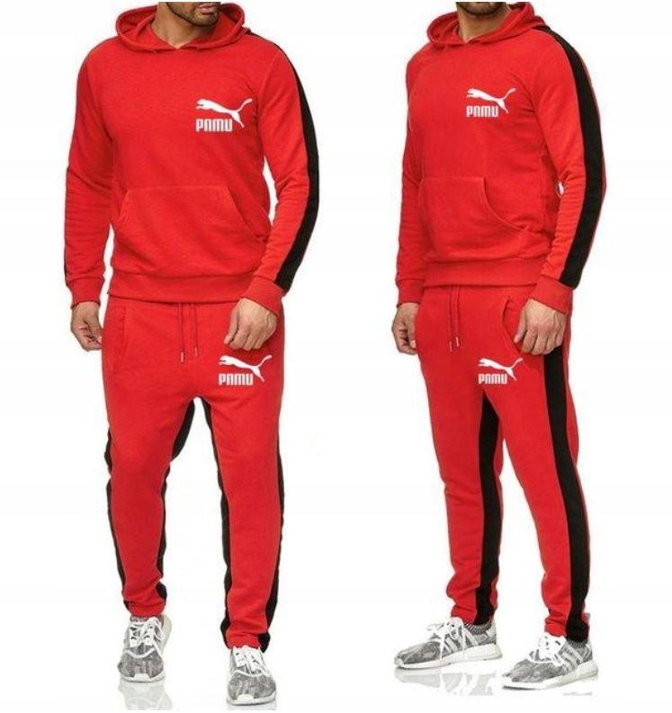 Zestaw Komplet Sportowy Bluza + Spodnie XL
