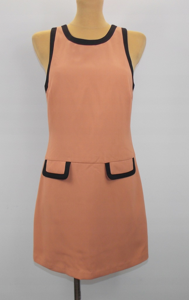 sukienka ATMOSPHERE elegancka chanelka biuro 38