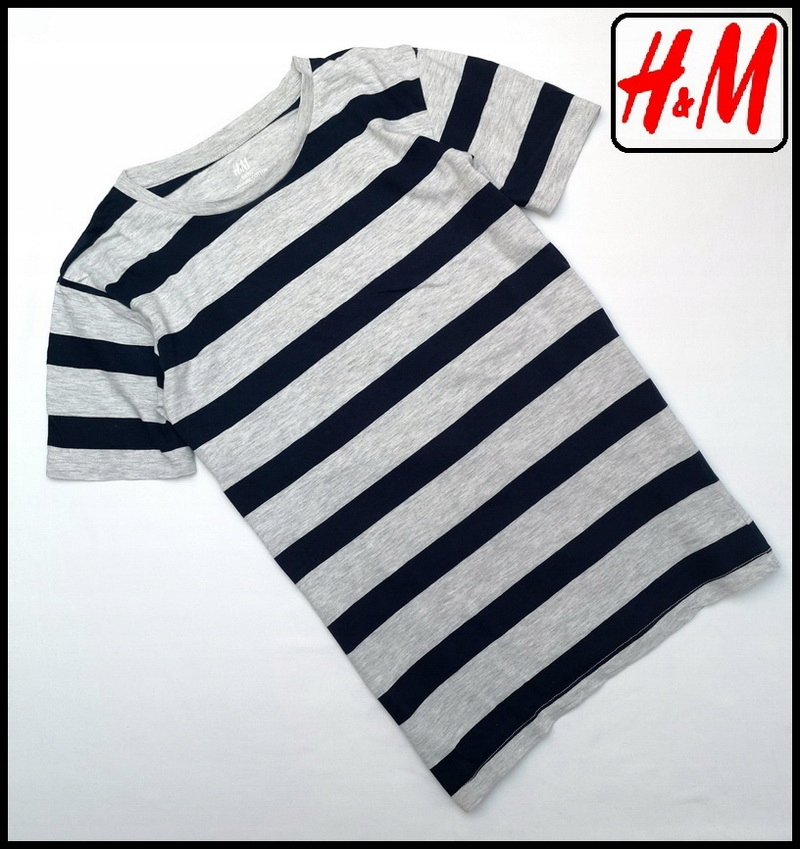 H&M BLUZKA w paseczki rozmiar 146 152
