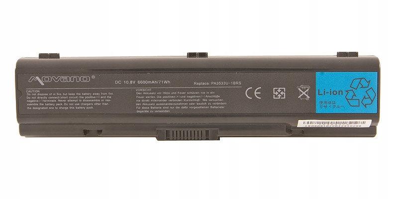 Bateria Movano Toshiba A200 A300 6600mAh JAKOŚĆ HQ