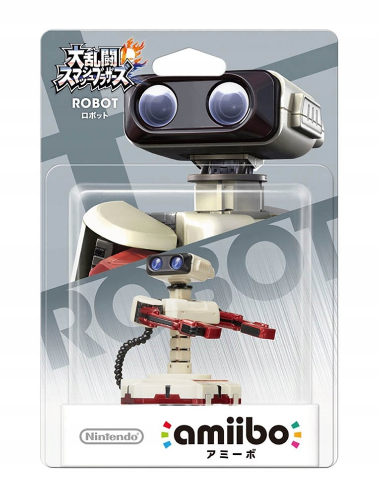 AMIIBO / FIGURKA / SUPER SMASH BROS / ROBOT R.O.B