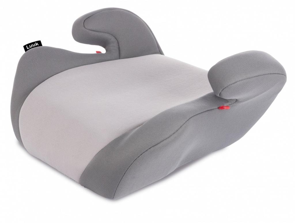LIONELO Fotelik 15-36 kg Luuk szary
