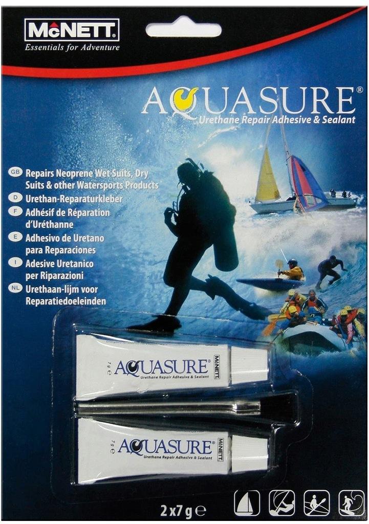 McNett Aquasure Klej do skafandrów 2x7g