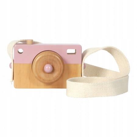 Little Dutch drewniany aparat różowy