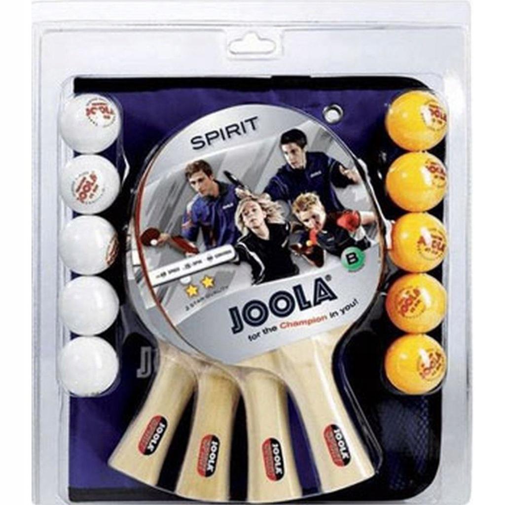 Zestaw do tenisa stołowego JOOLA FAMILLY 4 rakietk