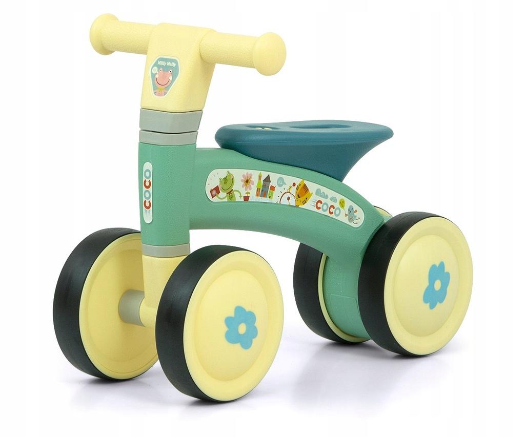 Milly Mally Pojazd Coco Mint