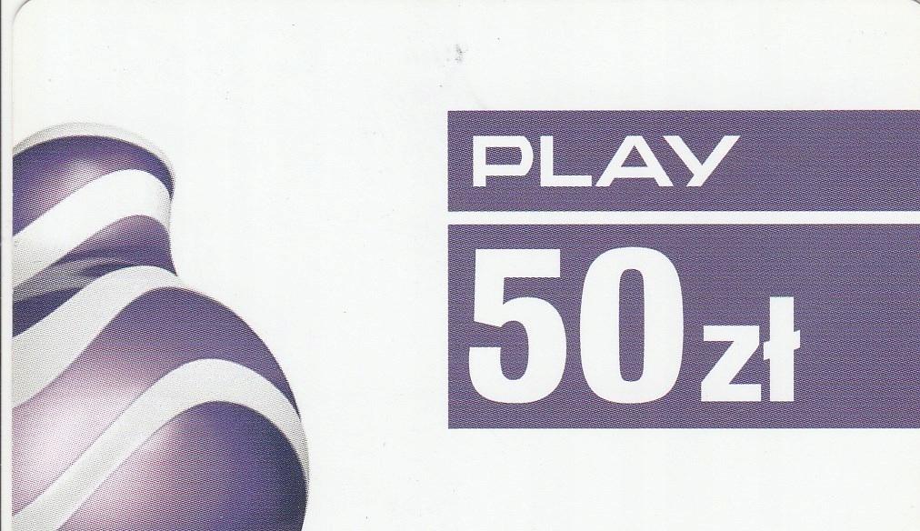 Play 50zł (2017/12/31)