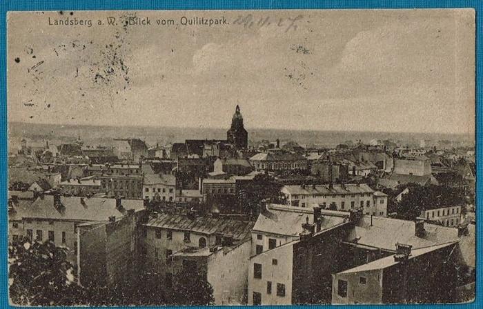 Gorzów. Landsberg a W.Panorama