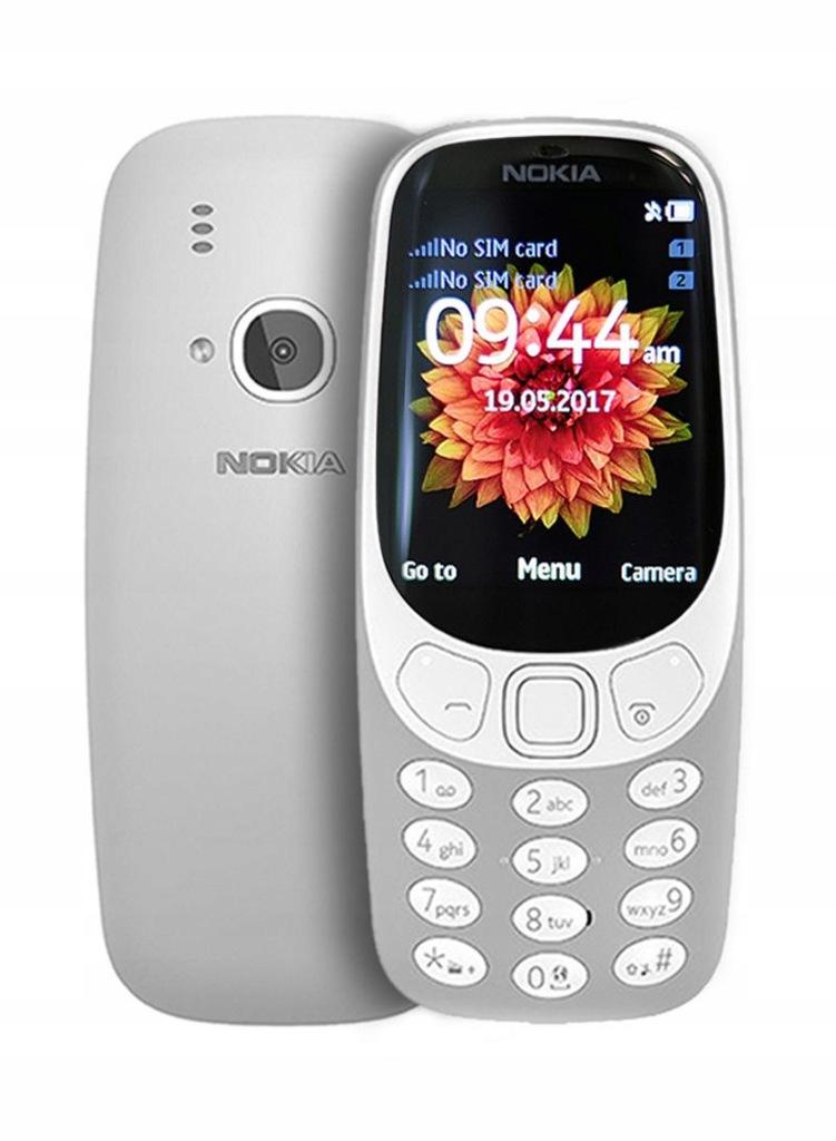Telefon Nokia 3310 TA-1030 2017 Dual SIM SZARY