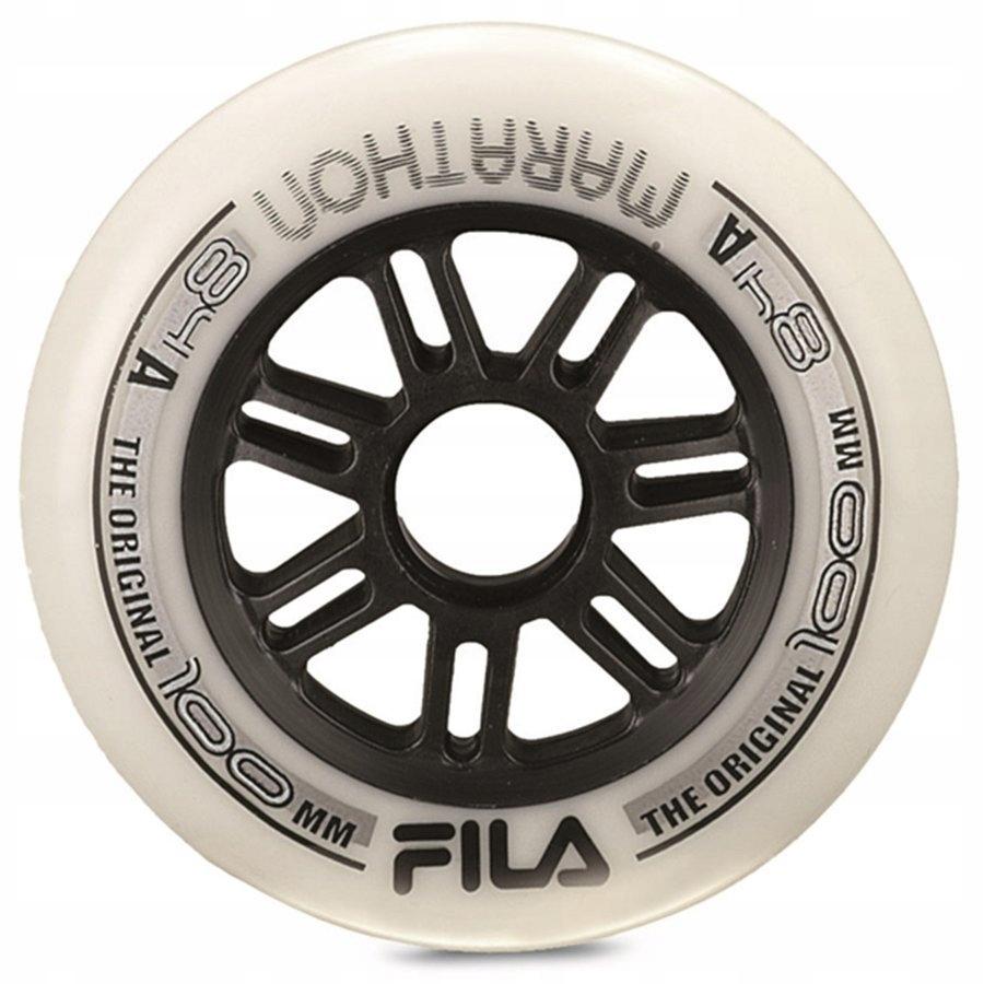 Kółka do rolek FILA SKATES 8 x 100mm / 84A white