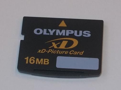 OLYMPUS karta 16MB DMDO
