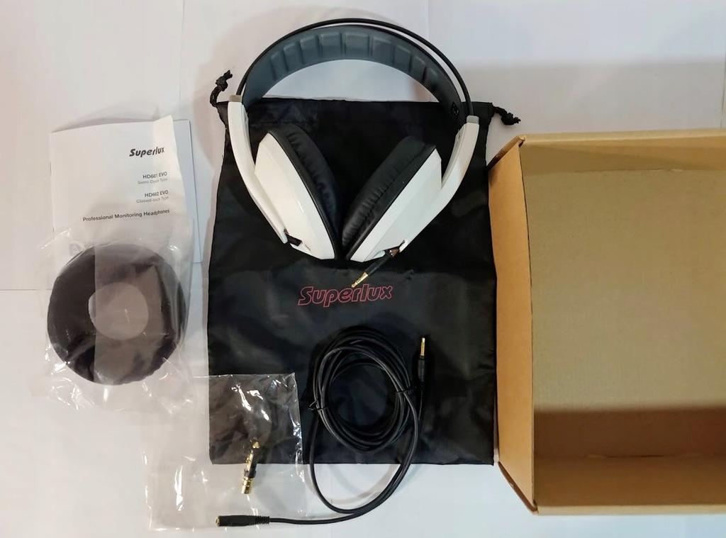 Słuchawki nauszne - Superlux HD662 EVO