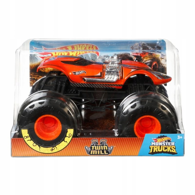 Hot WHeels Monster Trucks pojazd - Twin Mill