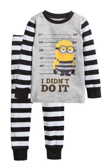 H&M piżama w minionki 134/140