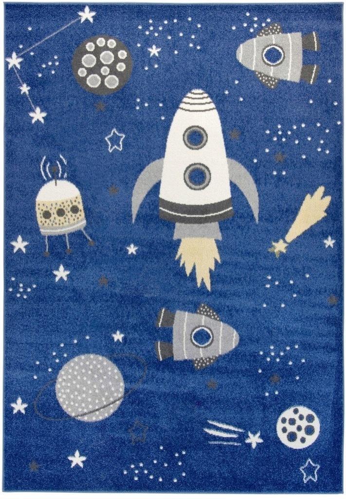 Dywan pokój dziecięcy kosmos 80x150 przytulny_CARP