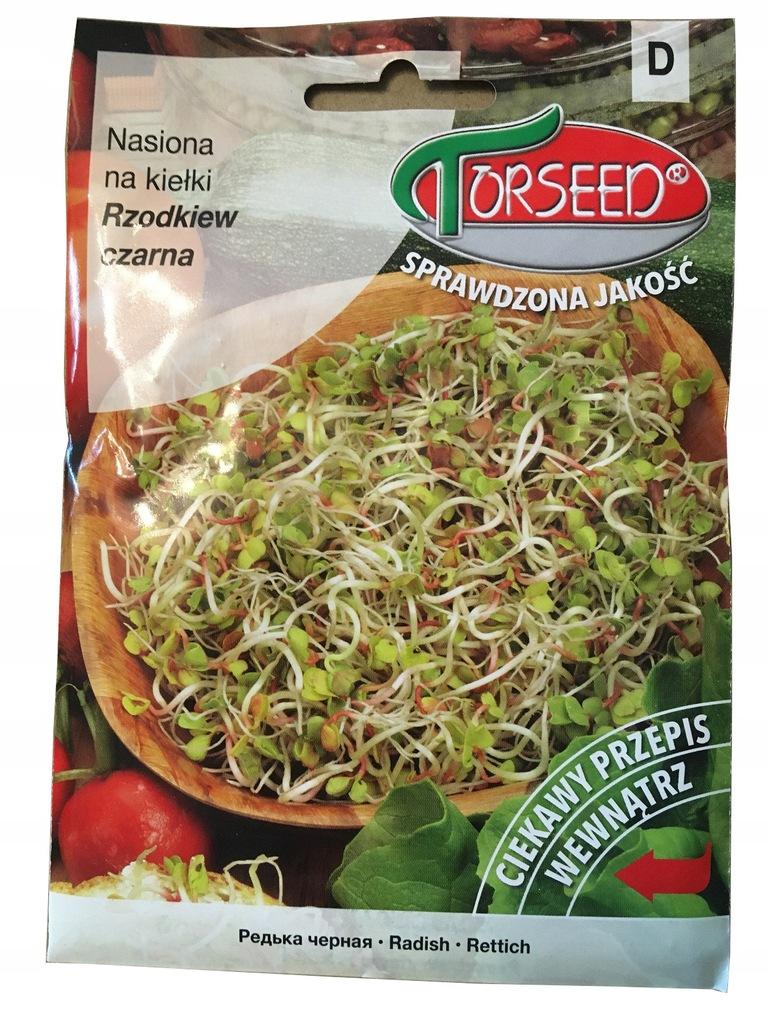 Nasiona na kiełki Rzodkiew czarna 10g Torseed