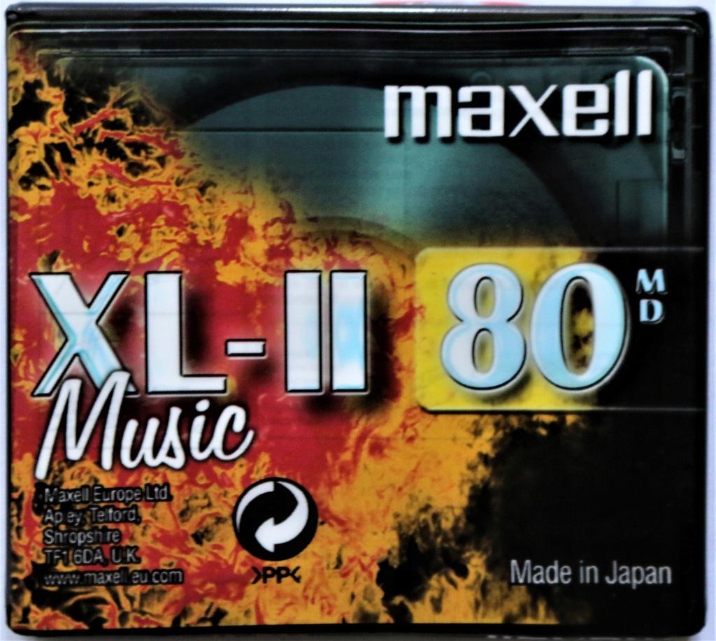 MINIDISC MINI DISC MAXELL XL-II MUSIC 80