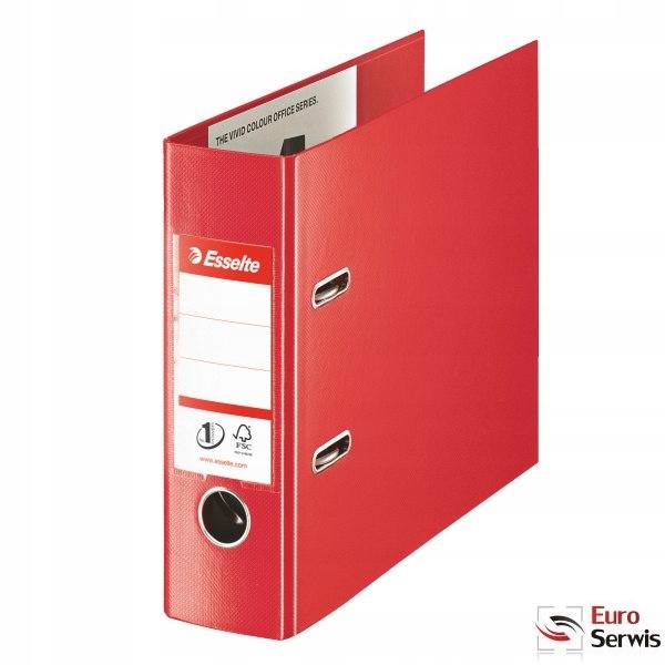 Segregator bankowy VIVIDA A5 75mm czerwony 468930