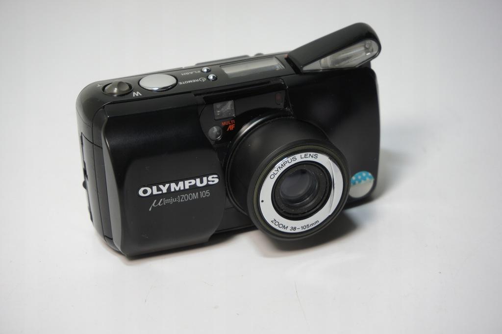 Aparat Fotograficzny Olympus Mju Zoom 105