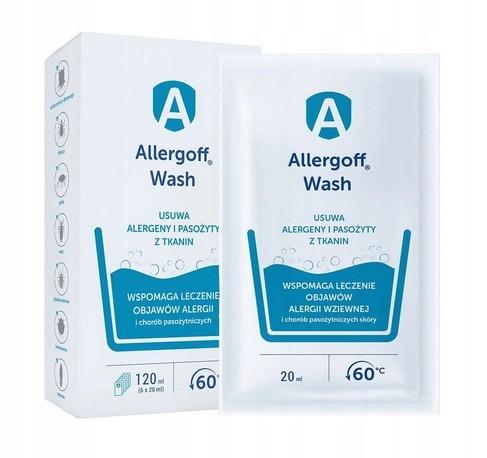 Allergoff Wash Koncentrat Do Prania Alergia 6x20ml