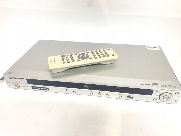 ODTWARZACZ DVD PIONEER DV-420V HDMI + PILOT