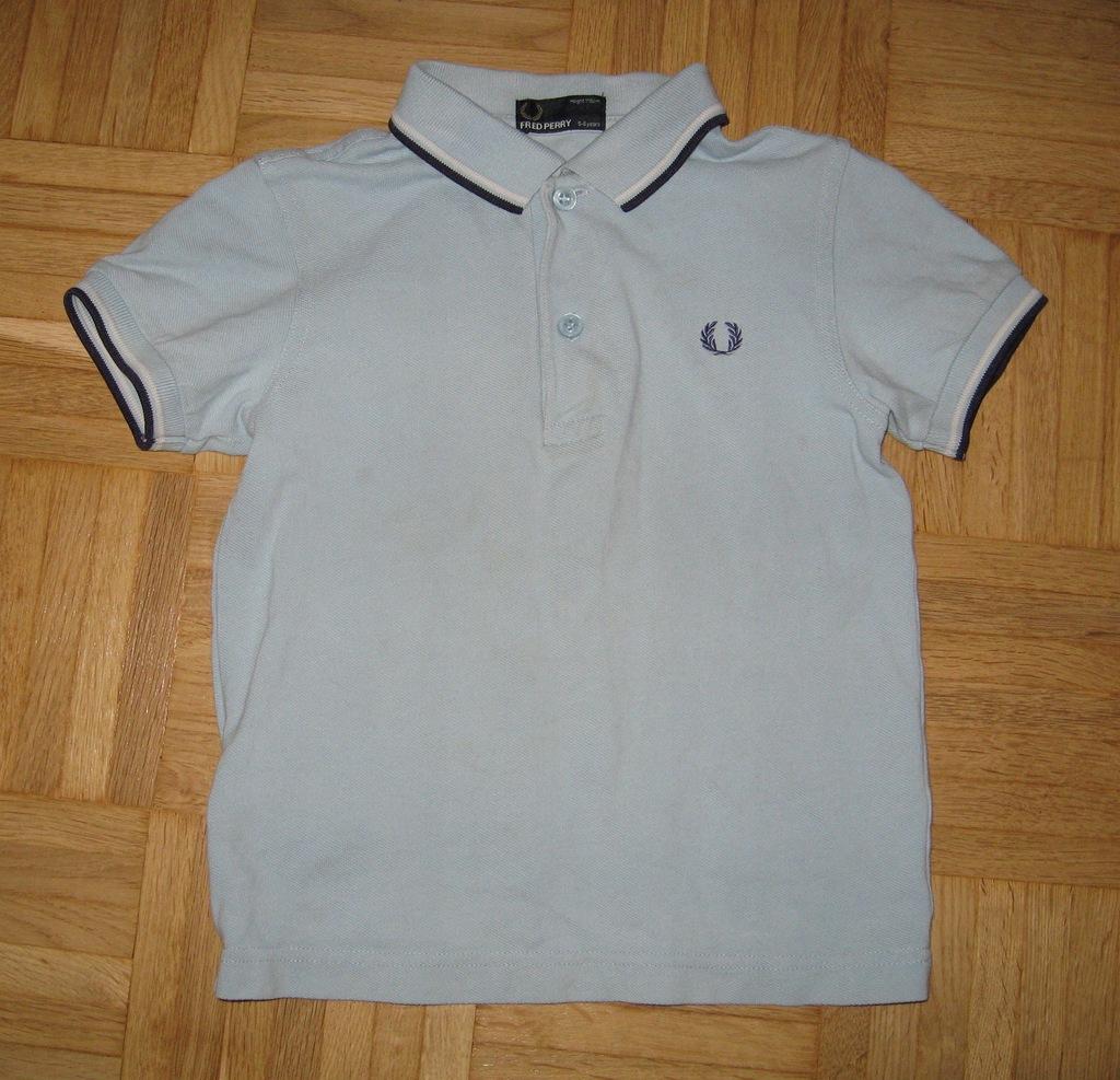 FRED PERRY koszulka polo JUNIOR 5-6 lat